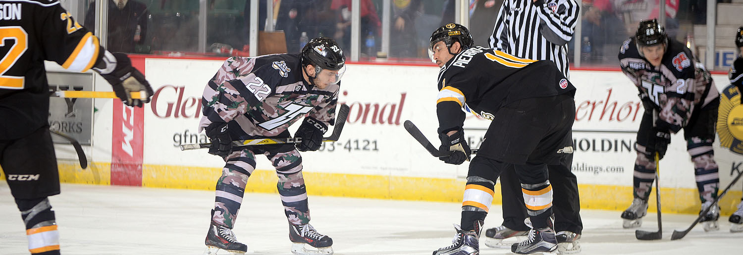 ECHL: Thunder Fizzle In 6-2 Loss